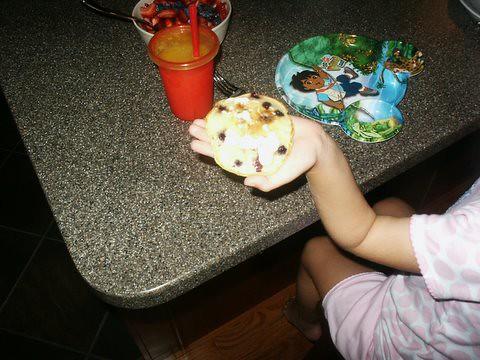 blue berry pancake