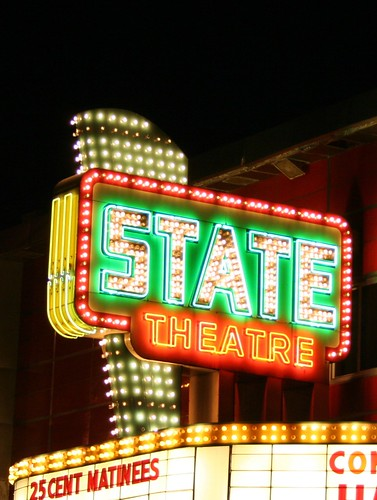 State Theatre Sign