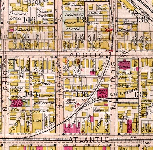 1805 Arctic Ave map