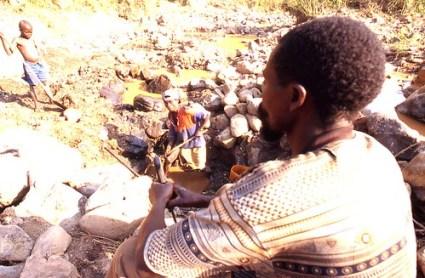 coltan mining