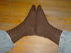 Whitby Socks - Done