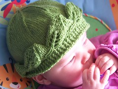 Baby Leaf Hat