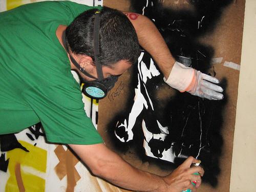 Martin Ortega criando coletivamente no 24h 2007