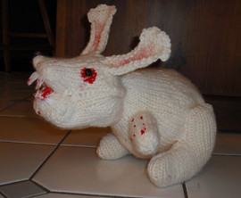 Ok, probably only funny to Monty Python fans, but I got a giggle out of it - Run!  Killer Rabbit!