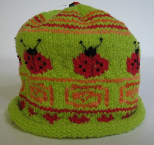 Ladybugs!!  This pattern includes matching booties - TOO adorable!