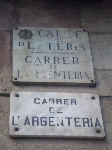 Carrer de l'Argenteria (Silversmith street) by OrliPix.
