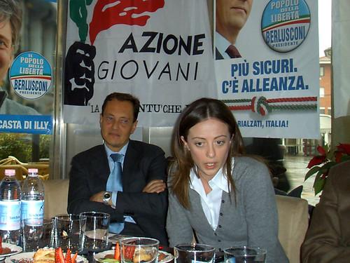 Conferenza Stampa Con Giorgia Meloni