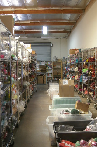 great holy mother of yarn aisle