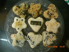 Star & Heart Onigiri