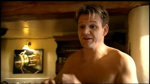Gordon Ramsay Shirtless