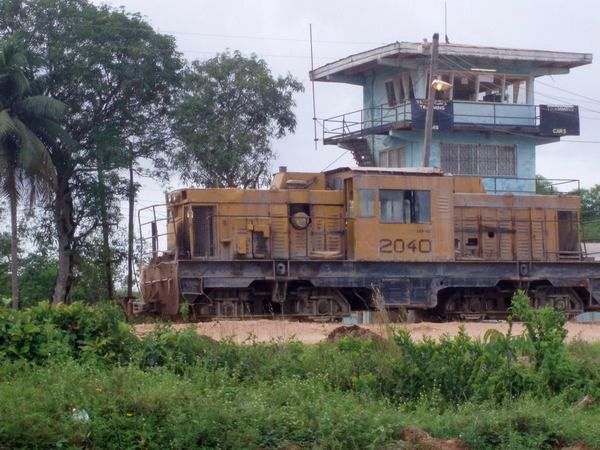 Demba medium sized locomotive, MacKenzie, Guyana