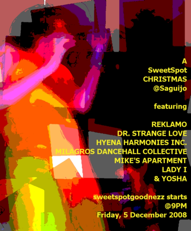 SweetSpot CHRISTmas at Saguijo December 2008