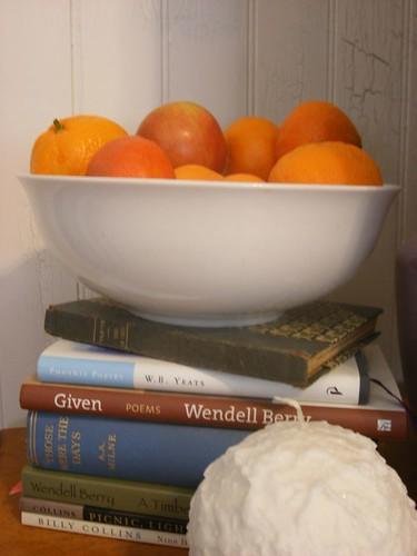 Mandarin oranges & poetry