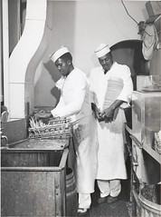 Negro bus-boy dishwashers, Investment Pharmacy, Washington, ...