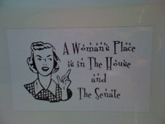 A Woman's Place is in The House and The Senate