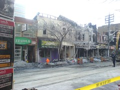 fire on queen west