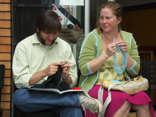 Couple Knitters