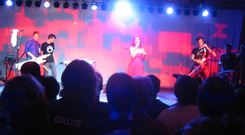 20081010 - Freezepop @ AnimeUSA - 169-6978 - playing - undies still on the stage - please click through to leave a comment on FlickR