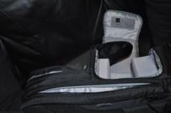 Laptop & Camera compartment\