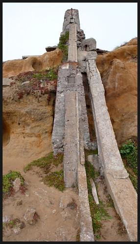 Ruins of a 19th century bath house, San Francisco.