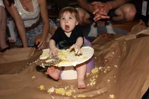Jules' First Birthday