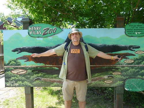 WI, Madison Zoo 1 - Dave armspan