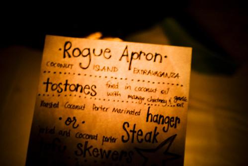 RA menu