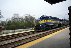 Chicago - a train