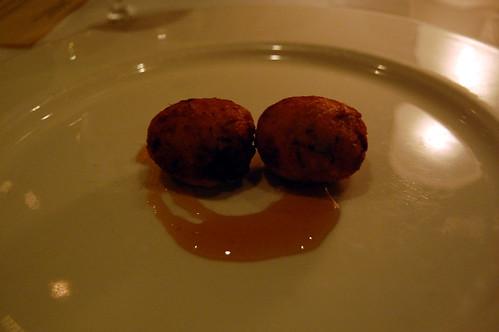 """Frittele di Caprino"" with Warm Honey"