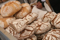 Gorgeous local breads at Barcelos market