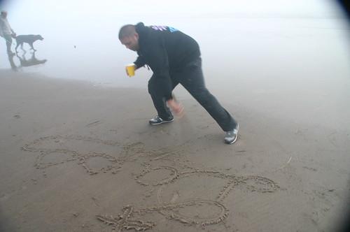 beach tagger
