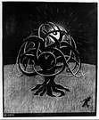 M. C. Escher. Tree. 1919.