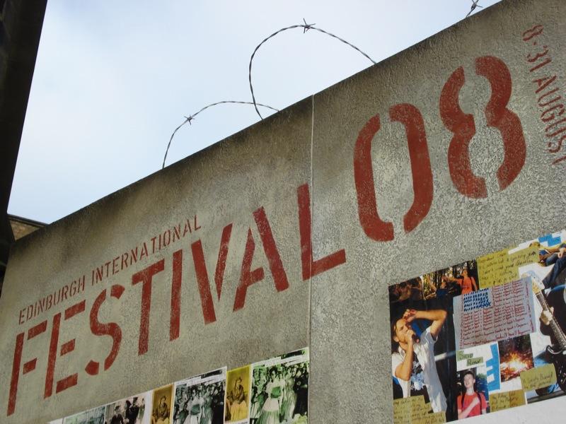 festival theme wall