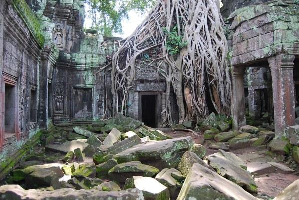 Ta Prohm en las ruinas de Angkor