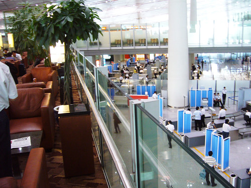 Business class lounge at Beijing Airport Terminal 3