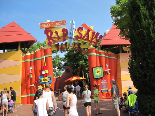 Toon Lagoon:  Dudley Do-Right's Ripsaw Falls