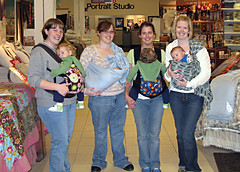 Babywearing in the bedding department