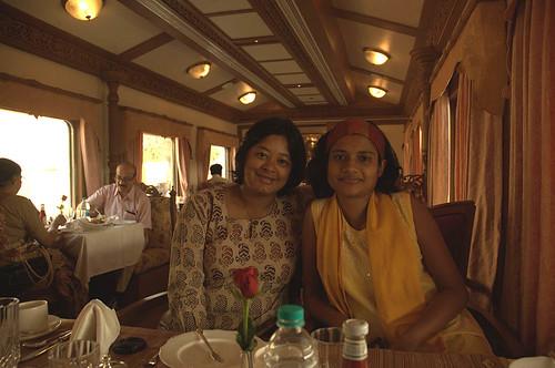 With Rohini