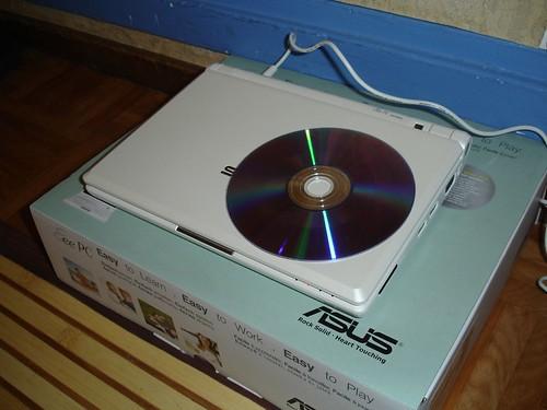 Comparativa con un disco DVD