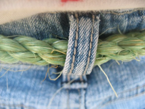 day on the farm...handmade rope by you.