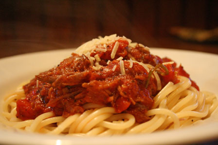 Short Rib Spaghetti