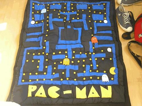 pacman quilt