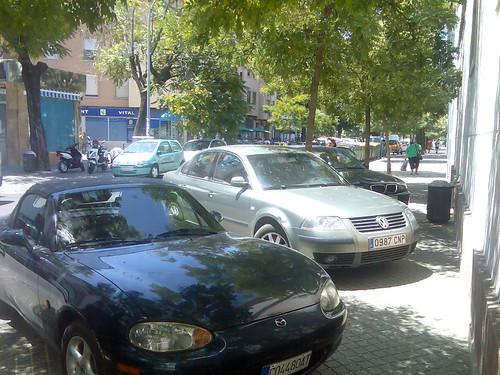Avenida Rabanales coches, coches, coches