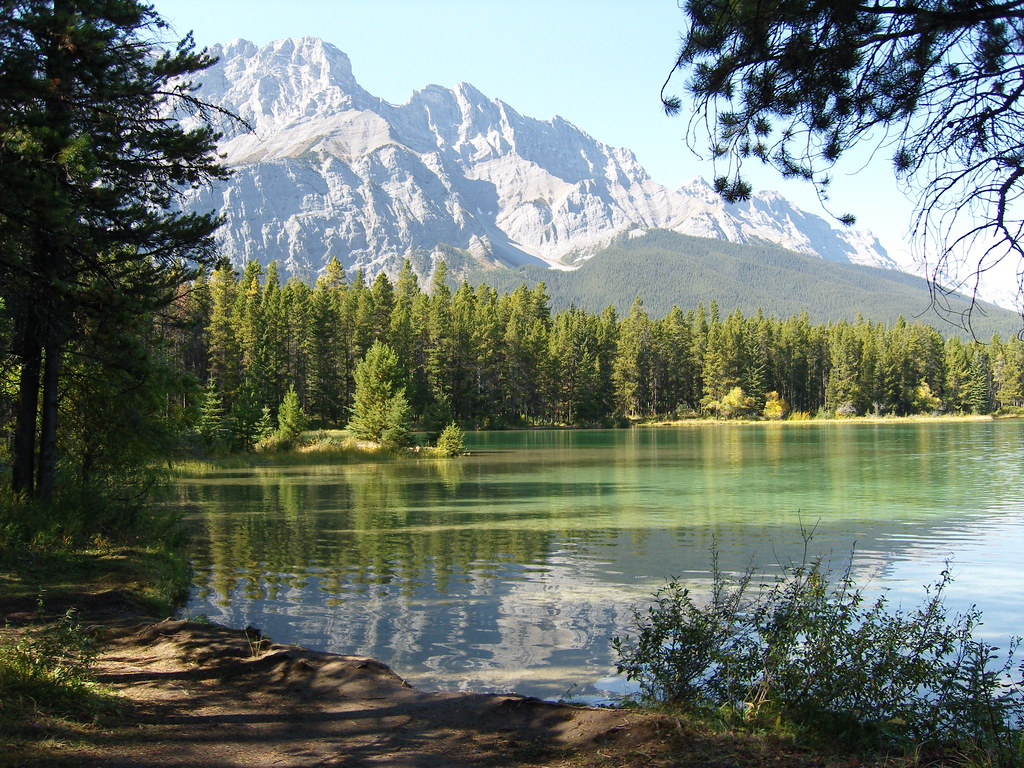 Two Jack Lake, Rocky Mountains