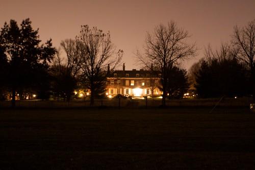 University President's house