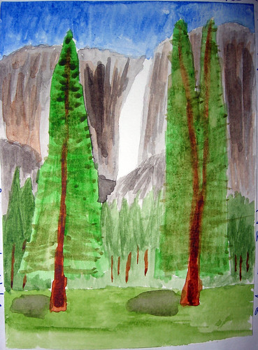 Neefer's Watercolor Painting