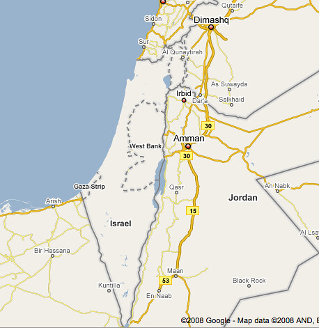 Google, Live Search Maps and Israel | Screenwerk