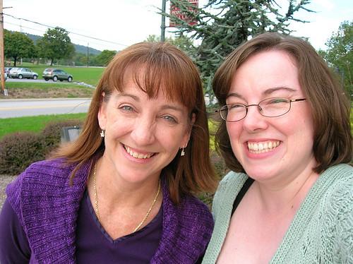 Anita & me, fall 2008