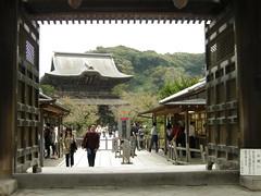 So-mon and San-mon, Kencho-ji, Kamakura