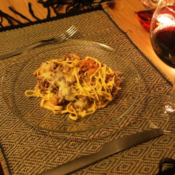 #127 - Spaghetti lasagna style